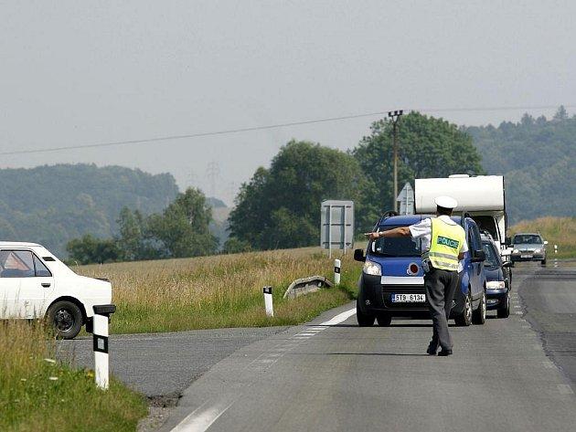 Středeční dopravní nehoda u Nových Sedlic.