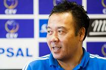 Nizozemský trenér české volejbalové reprezentace Stewart Bernard.