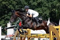 Opavský talentovaný jezdec Jan Zwinger, startující na koni Tudor, neponechal nic náhodě a s přehledem vyhrál kategorii juniorů.