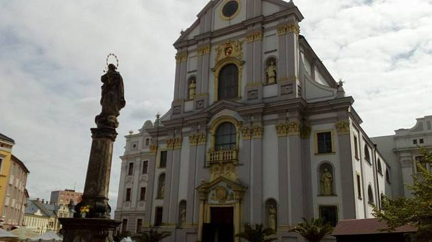 Kostele sv. Vojtěcha v Opavě.