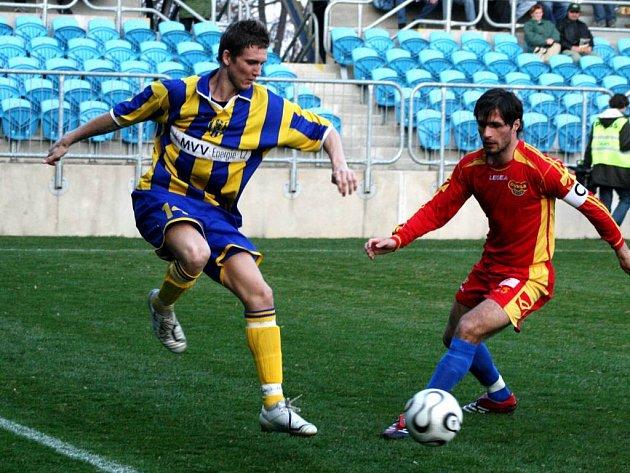 Milan Halaška se stejně jako jeho spoluhráči střelecky neprosadil.