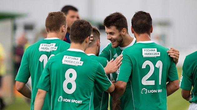 Fotbalisté Hlučína - Ilustrační foto.