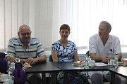 Kvůli nákaze liščí tasemnicí se v pátek konala ve Slezské nemocnici mimořádná tisková konference.