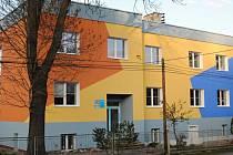 Budišovské středisko volného času je vyvedeno ve veselých barvách.