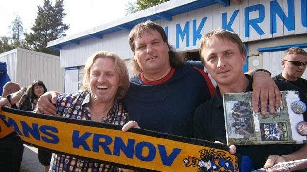 Velké setkání. (zleva) Pepa Vojtek, Pavel Jatzek a David Vysekal.