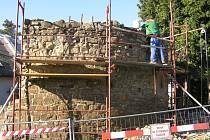 Hradební okruh v Hlučíně se bude opravovat až do konce listopadu.