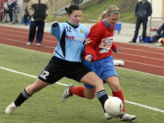 Hlučínské fotbalistky se po delší pauze radovaly z výhry.