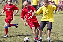 Třetí ročník fotbalového turnaje v minikopané na opavské Sokolce vyhráli Zidani.