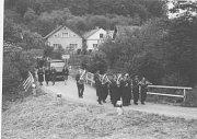 SNÍMEK zachycují most na okraji Štemplovce v roce 1978.