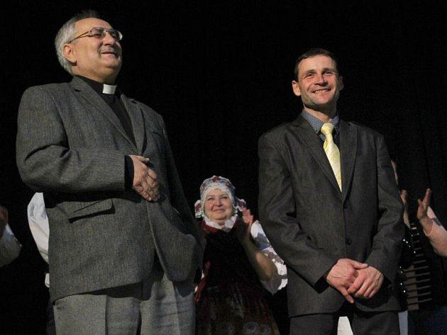 Alfréd Volný (vlevo) spolupracuje s žokejem Markem Stromským už řadu let.
