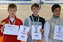 V Ostravě se sešli naši nejlepší šermíři v kategorii kadet (15-17 let). Konalo se zde finále mistrovství České republiky ve sportovním šermu fleretem. Opět zářil Ondřej Lasák ze Slezanu Opava.