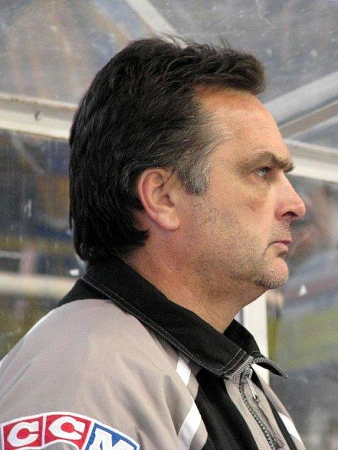 Eduard Uvíra, asistent trenéra HC Slezan Opava.
