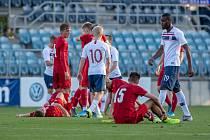 Norsko – Česko 1:1.