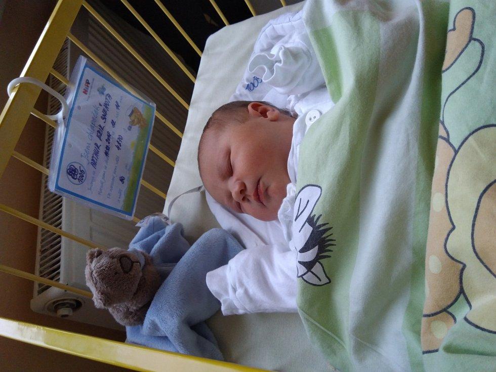 Arthur Erik Sněhota se narodil 11. prosince 2018, vážil 4,27 kilogramu a měřil 50 centimetrů. Rodiče Eliška a Jiří ze Štěpánkovic přejí Arthurkovi hodně zdraví a štěstí do života. Na Arthurka se doma těší jeho starší bráška Tobiášek a pejsek Olympek.