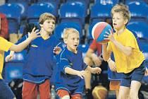 Basketbalové přípravky opět v akci.