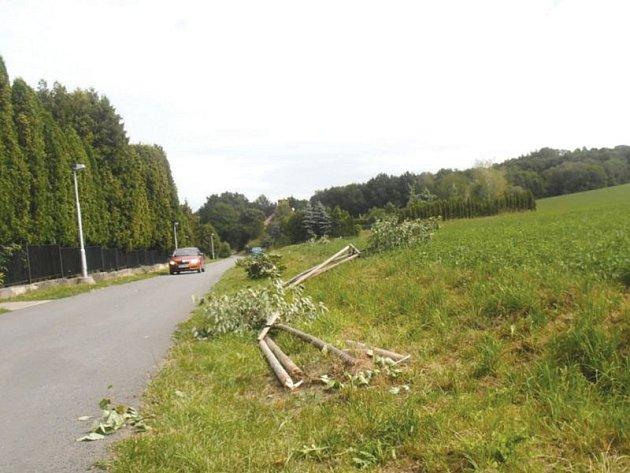 Trojice mladíků způsobila škodu za více než 70 000 korun.
