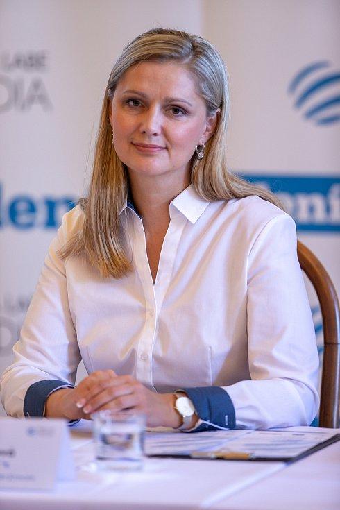 Setkání Sdružení obcí Hlučínska, 17. dubna 2019 v Kravařích. Na snímku Monika Brzesková.