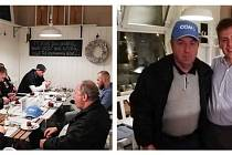 Po Liboru Kozákovi měla opavská kavárna P.S. Café dalšího zajímavého hosta, a to legendárního hokejového útočníka Milana Nového. Krom něj se na čokomalinu a paříž zastavili i hokejisté Brna. O obsluhu se staral Viktor Kurtin.