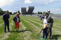 Děti se budou u Národního památníku II. světové války potýkat s netradičními úkoly.