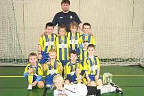 Mladší žáci Slezského FC Opava, ročník 2002.