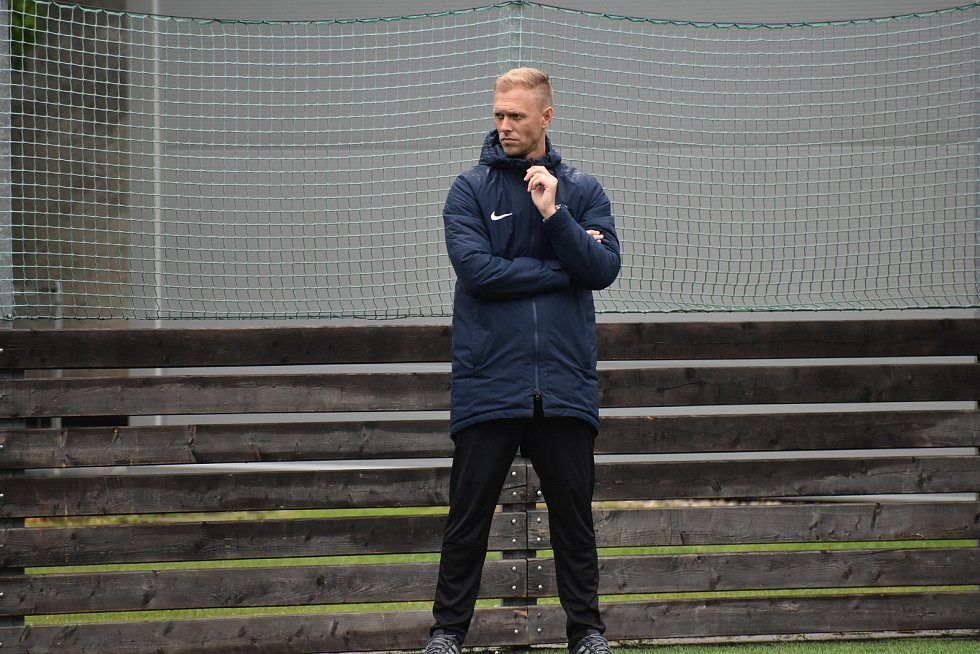 Nový trenér SFC Opava. Foto: Eliška Žídková