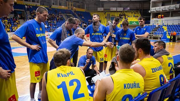 Trenér BK Opava Petr Czudek.