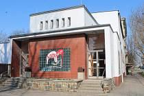 Loutkové divadlo v Opavě na Husově ulici.