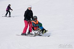 Handicapovaní žáci si užili lyžařský kurz.
