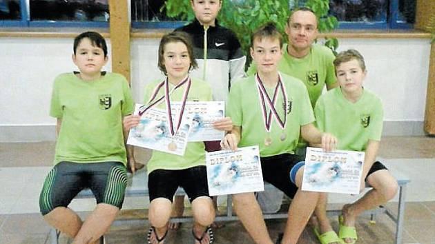 Plavcům KPS Opava se v Třebíči dařilo.
