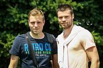 Bratrské duo. Vlevo Tomáš, vpravo Ondřej.