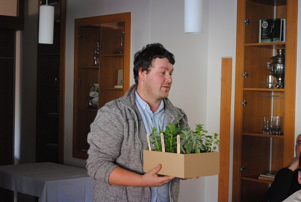 V minulém roce získalo certifikát například i Zahradnictví Weiss s.r.o. z Otic. Na snímku Jan Weiss. Foto: Milan Freiberg