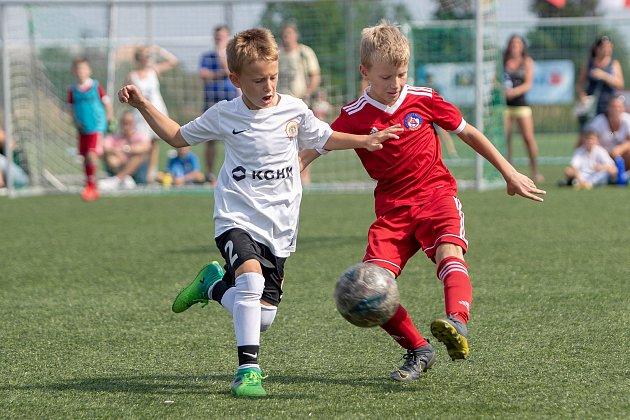 Dvoudenní mezinárodní fotbalový turnaj dětí ročníku 2011a mladších Moravskoslezský Cup vKravařích.