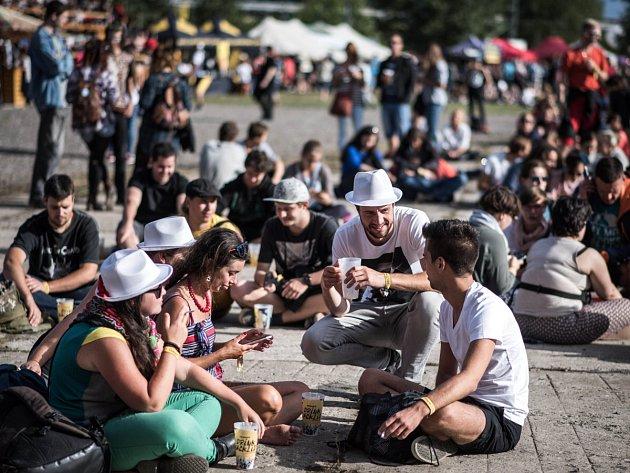 Festival byl bez poplatků, návštěvníci přispěli na dobročinnou věc