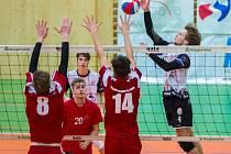 Extraligový  turnaj kadetů proběhl v hale opavského Slezského gymnazia.