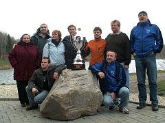 V Opavě nebudou u Stříbrného jezera v sobotu chybět ani přemožitelé kanálu La Manche. Snímek je z loňských závodů.