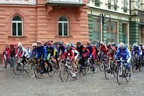O cenu Krnova, která byla třetím závodem Slezského poháru amatérských cyklistů, bojovalo v sobotu 113 závodníků.