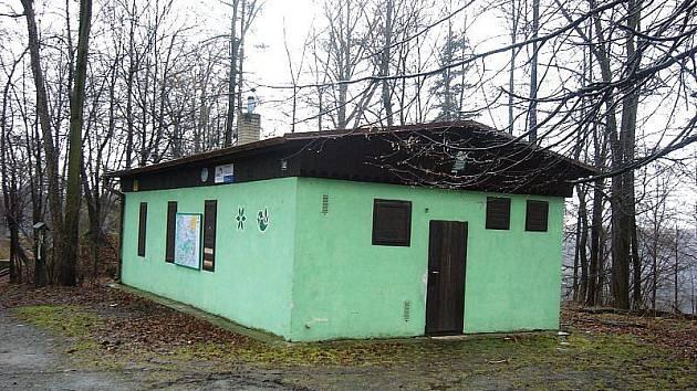 Terénní stanice u Vikštejna v roce 2009.