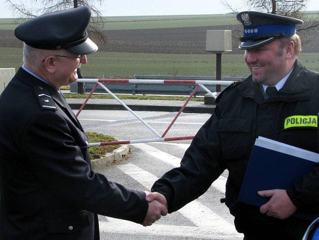 Od 27. února můžeme poblíž hranic potkat česko-polské hlídky.