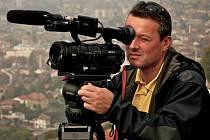 Z natáčení dokumentu Tenkrát na Balkáně.