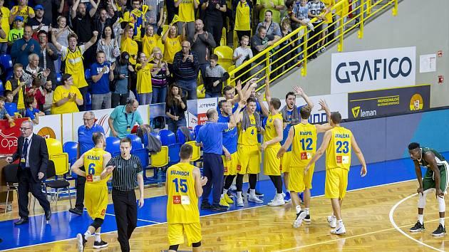 BK Opava v basketbalové Lize mistrů - Ilustrační foto.