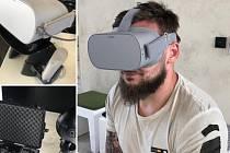 Po nasazení virtuálních brýlí se ocitnete v jiné dimenzi.