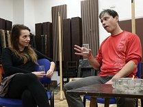 Sabina Muchová (Jenny) s Jakubem Stránským (Richard).