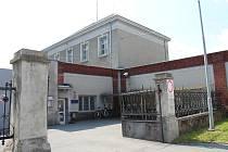 Brány opavské věznice v Olomoucké ulici.