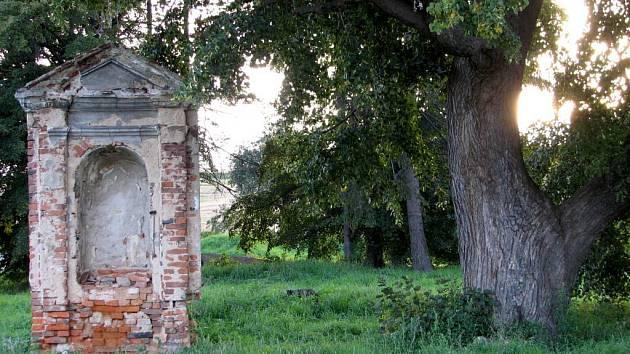 Chátrající kaplička v Brumovicích. V přístím roce se dočká opravy.