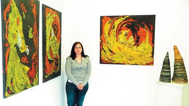 Andrea Rychtářová má už s výstavami také své zkušenosti.