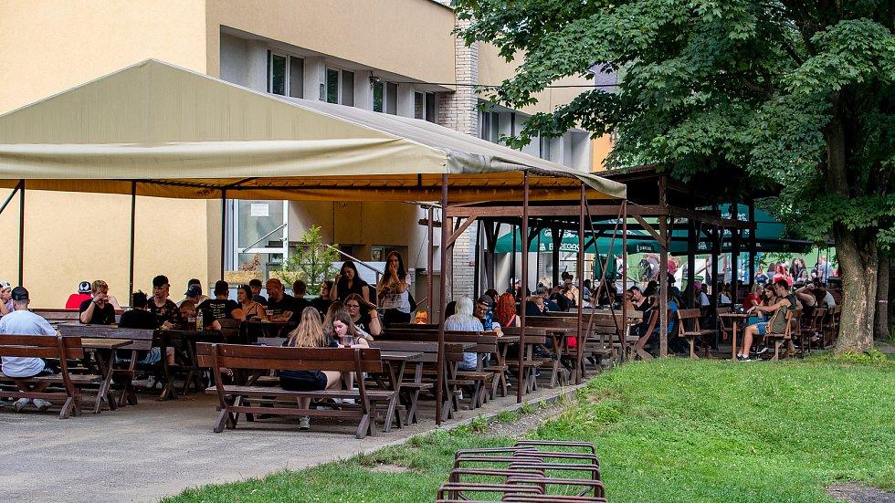 Restaurace Na Sokolce, Open Air Opava, Dorian x Psycho Rhyme x Grey, 17. července 2021.