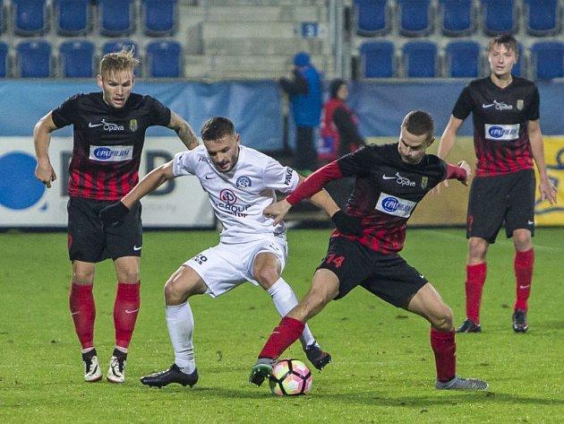 1.FC Slovácko - Slezský FC Opava 3:4 po prodloužení