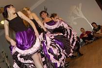 Orientální tance, flamenco, latinsko-americké tance, flirt dance, tribal fusion, břišní tance s křídly issis či africký tanec s živými bubeníky, které doplnil retro tanec ze 60. let a kankán.