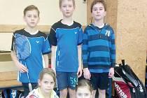Úspěšní badmintonisté.