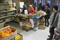 Výdejna potravin s názvem Help food funguje od letošního září v Krnovské ulici.
